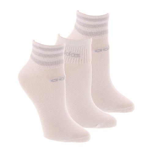 adidas Women's 3-Stripe 3-Pack Low Cut Socks
