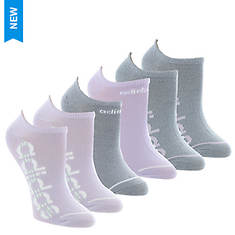 adidas Women's Superlite Linear 6-Pack No Show Socks