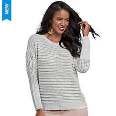 Textured Knit Dolman Sweater