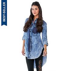 Frayed Hem Shirt