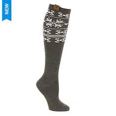BEARPAW Women's Nordic Knee High Socks