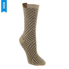 BEARPAW Women's Mix Stripe Crew Socks