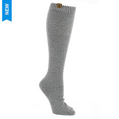 BEARPAW Women's Tuck Stitch Knee High Socks
