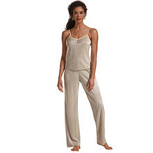 Shimmer Pleated Cami Pant Set
