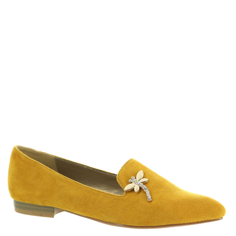 Retro Vintage Flats and Low Heel Shoes Bellini Dragonfly Womens Yellow Slip On 13 M $59.95 AT vintagedancer.com