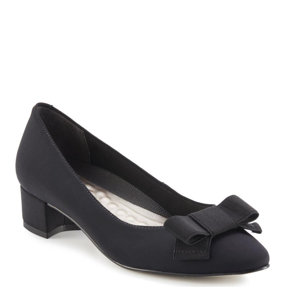 History of Victorian Boots & Shoes for Women Walking Cradles Harper Womens Black Pump 9.5 N $119.95 AT vintagedancer.com
