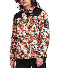 Timberland Men's Outdoor Archive Camo Puffer Jacket
