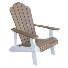 AmeriHome Outdoor Two-Tone Adirondack Chair