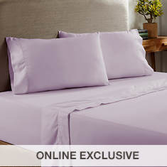Symphony Collection 400-Thread Count Brushed Sheet Set