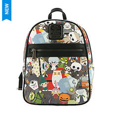 Loungefly x Disney The Nightmare Before Christmas Chibi Mini Backpack