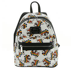 0c95f22d980 Loungefly Disney Mickey with Rainbow Mini Backpack