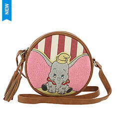 Loungefly Disney Dumbo Stripes Crossbody Bag