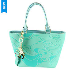 Loungefly Disney Little Mermaid Embossed Tote Bag
