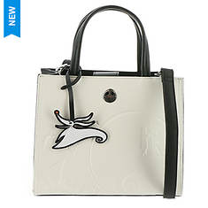 Loungefly x Disney The Nightmare Before Christmas Debossed Satchel