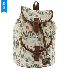 Loungefly Star Wars Ewok Forest Backpack