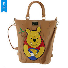Loungefly Disney Winnie The Pooh Convertible Tote/Backpack