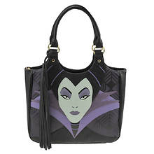 Loungefly Disney Maleficent Face Tote Bag