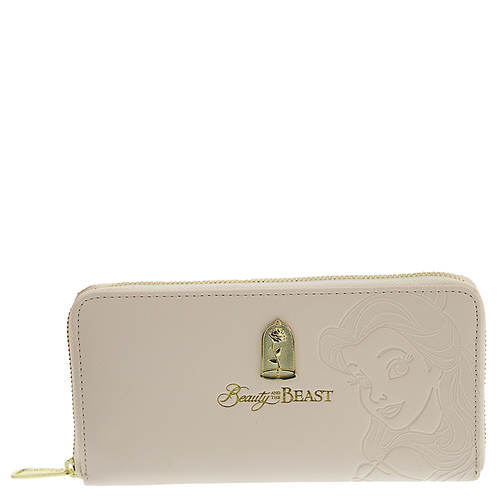 Loungefly Disney Belle Embossed Charm Wallet