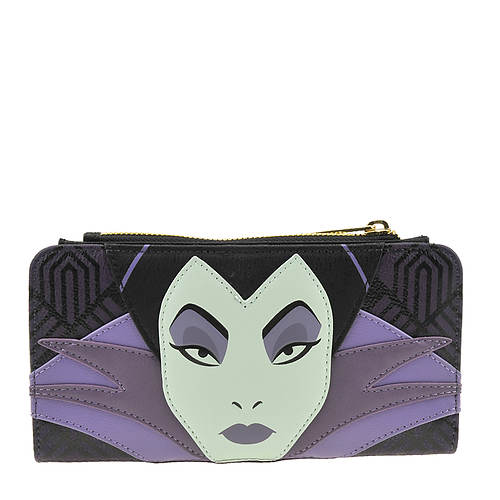 Loungefly Disney Maleficent Face Wallet