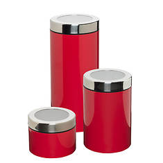 Honey Can Do Set of 3 Food Storage Canisters