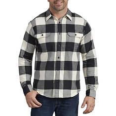 Dickies Men's LS Flex Flannel Woven Shirt