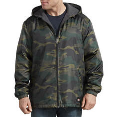 Dickies Men's Hooded Nylon Fleece Lined