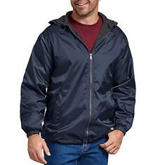 Dickies Men's Hooded Nylon Fleece Lined