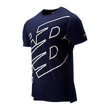 New Balance Men's Printed Accelerate Short Sleeve
