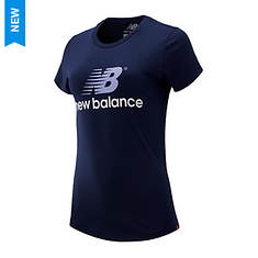 New Balance Women's NB Athetlics Archive Stacked T