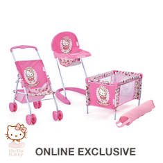Hello Kitty 3-Piece Playset