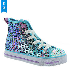 Skechers TT Twinkle Lite Leopard (Girls' Toddler-Youth)