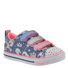 Skechers Sparkle Glam 89184N Girls Infant-Toddler Boot 7 M US Toddler Navy