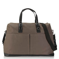 Hadaki Weekender Canvas-Leather