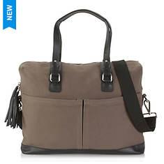 Hadaki Work Bag Canvas-Leather