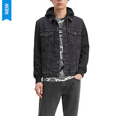 Levi's Men's Hybrid Hoodie Trucker Jacket