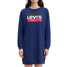Levi's Women's Crew Sweatshirt Dress