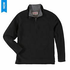 Wrangler Men's 1/4 Zip Fleece Pullover