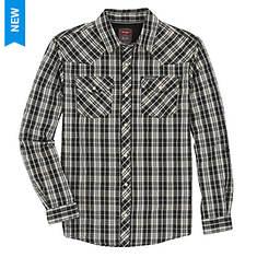 Wrangler Men's Western Plaid Shirt