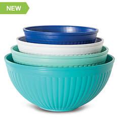 Nordic Ware 4-Piece Prep & Serve Mixing Bowl Set