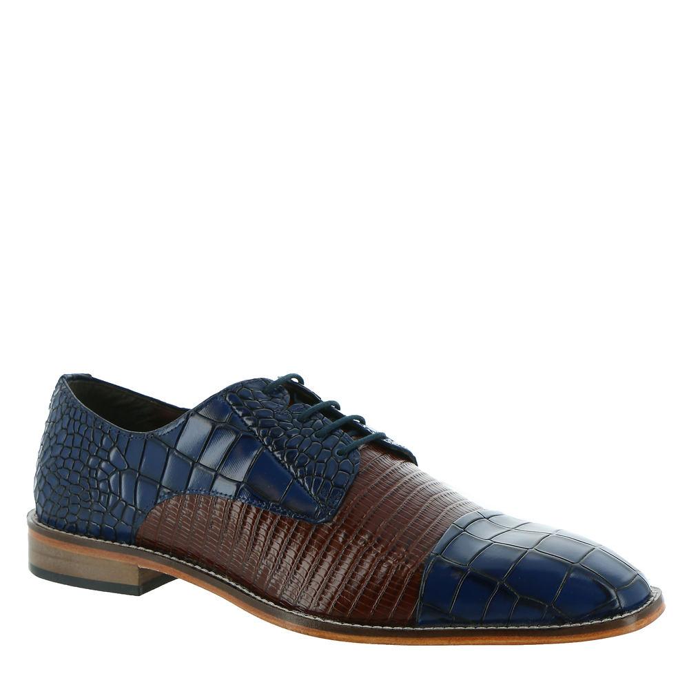 Mens Vintage Shoes, Boots | Retro Shoes & Boots Stacy Adams Talarico Mens Blue Oxford 11 M $99.95 AT vintagedancer.com