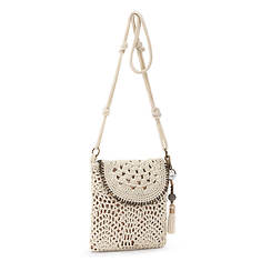 The Sak Sayulita Crochet Flap Crossbody Bag