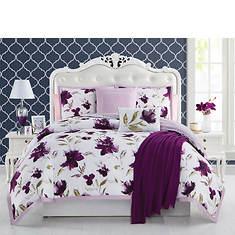 Ellen Tracy 6-Piece Reversible Comforter Set