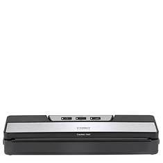 Caso Design VC10 Food Vac Sealer with Bonus Vacuum Rolls
