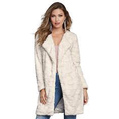 Textured Open Coat