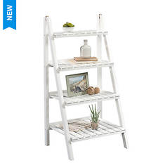 Sauder Cottage Road 4-Tier Ladder Shelf