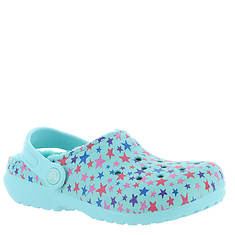 Crocs™ Classic Printed Lined Clog (Girls' Infant-Toddler-Youth)