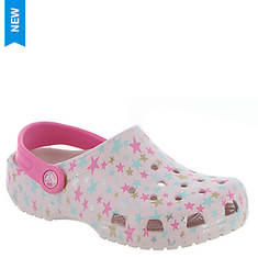 Crocs™ Classic Printed Clog (Girls' Infant-Toddler-Youth)
