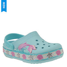 Crocs™ CrocsFL Mermaid Band Clog (Girls' Infant-Toddler-Youth)