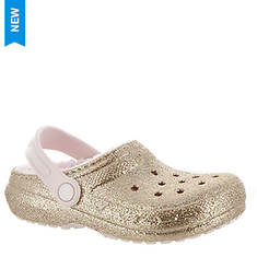 Crocs™ Classic Glitter Lined Clog (Girls' Infant-Toddler-Youth)