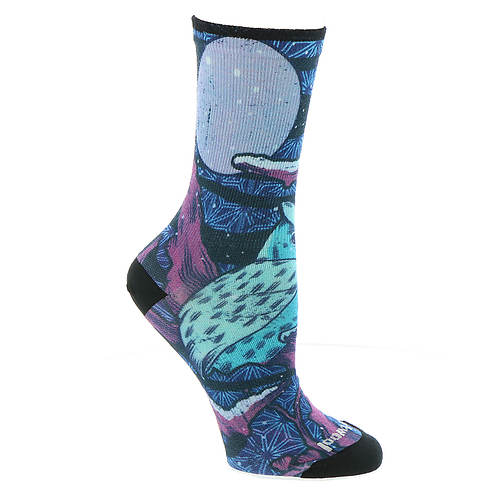 Smartwool Women's Curated Owl Graphic Crew Socks